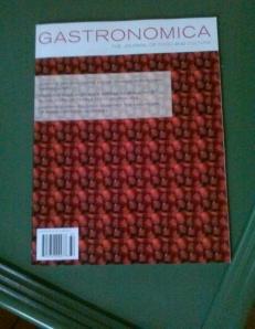 Gastronomica Cover