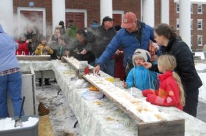 Sugar on Snow Party, Montpelier Farmers Market