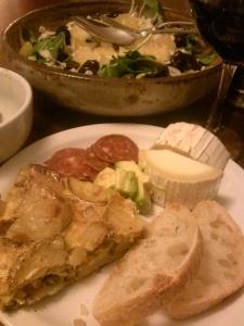 Spanishish Dinner Plate