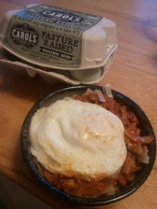 The best part of this dinner? The leftovers make an awesome breakfast with an egg on top.